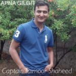 Another Son of GB, Capt Taimoor Embraced Martyrdom due to Indian unprovoked fire on LOC