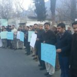 Gilgit: Civil Society Staged a Protest Demo, demanded  an impartial & fair inquiry into the story of Daily Times